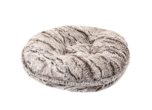 Awesome Gator Grey Mink Round Dog Bed Squirreltailoven Fun Painted Chair Ideas Images Squirreltailovenorg