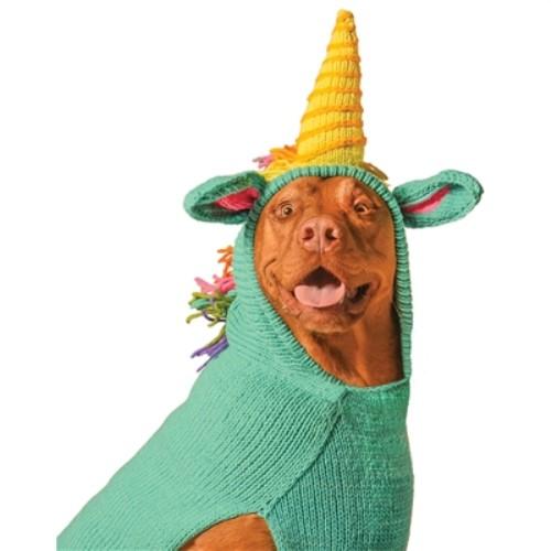 Unicorn Hoodie Dog Sweater