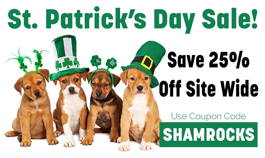 SHAMROCK-Save 25% off sitewide