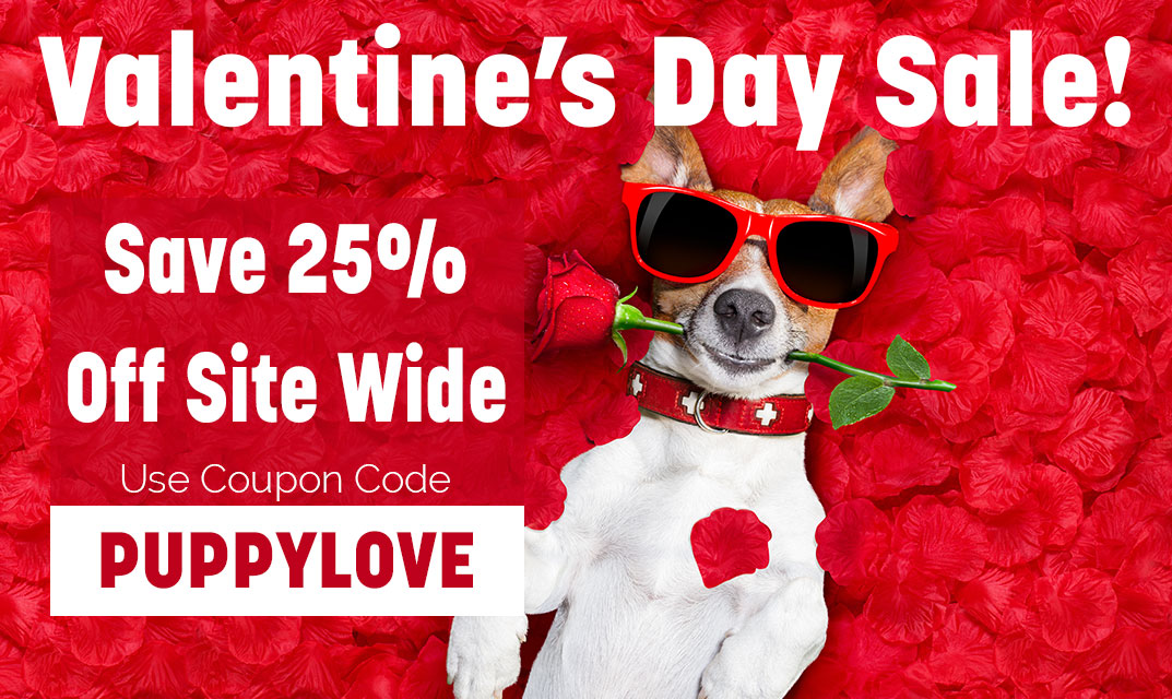 PUPPYLOVE-Save 25% off sitewide