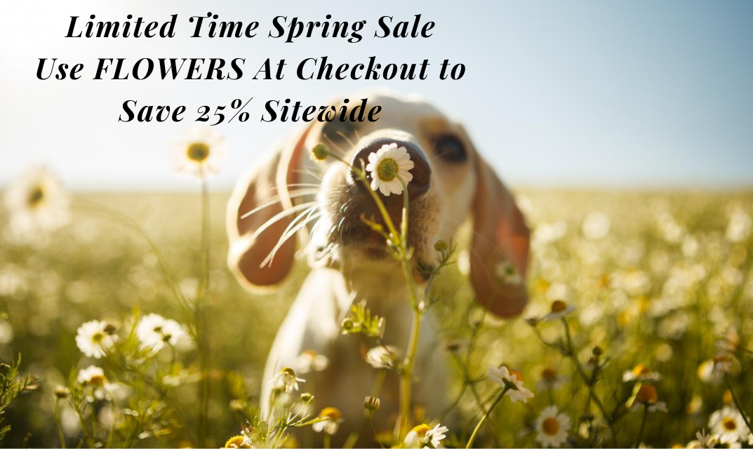 Save 25% SITEWIDE with code FLOWERS at checkout!  Limited Time Sale