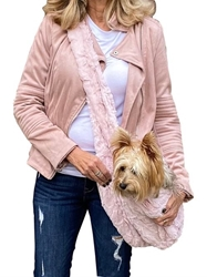 Adjustable Furbaby Sling Bag in Blush Bella  wooflink, susan lanci, dog clothes, small dog clothes, urban pup, pooch outfitters, dogo, hip doggie, doggie design, small dog dress, pet clotes, dog boutique. pet boutique, bloomingtails dog boutique, dog raincoat, dog rain coat, pet raincoat, dog shampoo, pet shampoo, dog bathrobe, pet bathrobe, dog carrier, small dog carrier, doggie couture, pet couture, dog football, dog toys, pet toys, dog clothes sale, pet clothes sale, shop local, pet store, dog store, dog chews, pet chews, worthy dog, dog bandana, pet bandana, dog halloween, pet halloween, dog holiday, pet holiday, dog teepee, custom dog clothes, pet pjs, dog pjs, pet pajamas, dog pajamas,dog sweater, pet sweater, dog hat, fabdog, fab dog, dog puffer coat, dog winter jacket, dog col