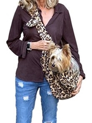 Adjustable Furbaby Sling Bag in Leopard Sand wooflink, susan lanci, dog clothes, small dog clothes, urban pup, pooch outfitters, dogo, hip doggie, doggie design, small dog dress, pet clotes, dog boutique. pet boutique, bloomingtails dog boutique, dog raincoat, dog rain coat, pet raincoat, dog shampoo, pet shampoo, dog bathrobe, pet bathrobe, dog carrier, small dog carrier, doggie couture, pet couture, dog football, dog toys, pet toys, dog clothes sale, pet clothes sale, shop local, pet store, dog store, dog chews, pet chews, worthy dog, dog bandana, pet bandana, dog halloween, pet halloween, dog holiday, pet holiday, dog teepee, custom dog clothes, pet pjs, dog pjs, pet pajamas, dog pajamas,dog sweater, pet sweater, dog hat, fabdog, fab dog, dog puffer coat, dog winter jacket, dog col