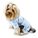 Adorable Teddy Bear Love  Dog PJ's in Blue - klip-adorable-teddy-pjs