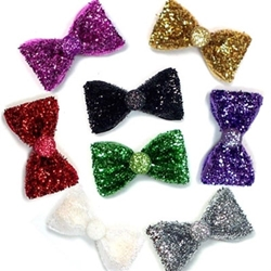All That Glitters Dog Hair Bow