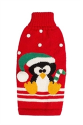 Alpalca Penguin Dog Sweater