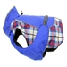 Alpine  All Weather Dog Coat-ROYAL BLUE Plaid - dd-alpineroyal