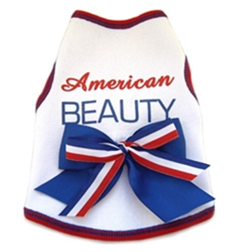 American Beauty Dog Dress