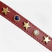 American Dog Collar & Lead in Red - dosh-americanred