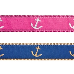 Anchors Collar, Lead & Harness 3/4 inch