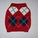 Argyle Red Sweater - gby-argyle-redL-8YJ
