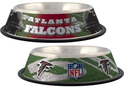 Atlanta Falcons Dog Bowl