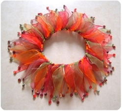 Autumn Crystals Festive Dog Collar