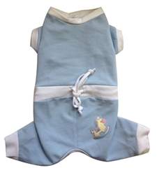 Baby Snuggle Dog Suit in Pink or Blue