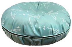 Bagel Bed in Aqua Sail Boat Roxy & Lulu, wooflink, susan lanci, dog clothes, small dog clothes, urban pup, pooch outfitters, dogo, hip doggie, doggie design, small dog dress, pet clotes, dog boutique. pet boutique, bloomingtails dog boutique, dog raincoat, dog rain coat, pet raincoat, dog shampoo, pet shampoo, dog bathrobe, pet bathrobe, dog carrier, small dog carrier, doggie couture, pet couture, dog football, dog toys, pet toys, dog clothes sale, pet clothes sale, shop local, pet store, dog store, dog chews, pet chews, worthy dog, dog bandana, pet bandana, dog halloween, pet halloween, dog holiday, pet holiday, dog teepee, custom dog clothes, pet pjs, dog pjs, pet pajamas, dog pajamas,dog sweater, pet sweater, dog hat, fabdog, fab dog, dog puffer coat, dog winter ja