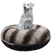 Bagel Bed in Black Puma & Frosted Glacier - bb-blackpumafrosted