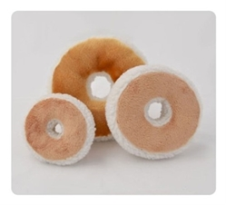 Bagel and Cream Cheese Dog Toy