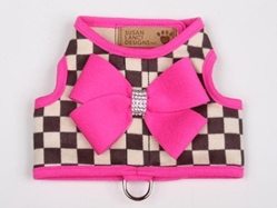 Bailey Harness Windsor Check in Many Colors by Susan Lanci  wooflink, susan lanci, dog clothes, small dog clothes, urban pup, pooch outfitters, dogo, hip doggie, doggie design, small dog dress, pet clotes, dog boutique. pet boutique, bloomingtails dog boutique, dog raincoat, dog rain coat, pet raincoat, dog shampoo, pet shampoo, dog bathrobe, pet bathrobe, dog carrier, small dog carrier, doggie couture, pet couture, dog football, dog toys, pet toys, dog clothes sale, pet clothes sale, shop local, pet store, dog store, dog chews, pet chews, worthy dog, dog bandana, pet bandana, dog halloween, pet halloween, dog holiday, pet holiday, dog teepee, custom dog clothes, pet pjs, dog pjs, pet pajamas, dog pajamas,dog sweater, pet sweater, dog hat, fabdog, fab dog, dog puffer coat, dog winter jacket, dog col