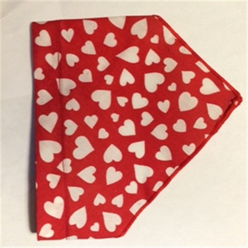 Bandana Collars - Love Hearts