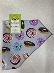Bandana Dog Collars - Donut Date (Flannel) - NEW STYLE kosher, hanukkah, toy, jewish, toy, puppy bed,  beds,dog mat, pet mat, puppy mat, fab dog pet sweater, dog swepet clothes, dog clothes, puppy clothes, pet store, dog store, puppy boutique store, dog boutique, pet boutique, puppy boutique, Bloomingtails, dog, small dog clothes, large dog clothes, large dog costumes, small dog costumes, pet stuff, Halloween dog, puppy Halloween, pet Halloween, clothes, dog puppy Halloween, dog sale, pet sale, puppy sale, pet dog tank, pet tank, pet shirt, dog shirt, puppy shirt,puppy tank, I see spot, dog collars, dog leads, pet collar, pet lead,puppy collar, puppy lead, dog toys, pet toys, puppy toy, dog beds, pet beds, puppy bed,  beds,dog mat, pet mat, puppy mat, fab dog pet sweater, dog sweater, dog winte