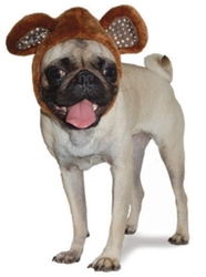 Bear Dog Hat - Brown