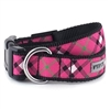 Bias Plaid Hot Pink Dog Collar & Lead   pet clothes, dog clothes, puppy clothes, pet store, dog store, puppy boutique store, dog boutique, pet boutique, puppy boutique, Bloomingtails, dog, small dog clothes, large dog clothes, large dog costumes, small dog costumes, pet stuff, Halloween dog, puppy Halloween, pet Halloween, clothes, dog puppy Halloween, dog sale, pet sale, puppy sale, pet dog tank, pet tank, pet shirt, dog shirt, puppy shirt,puppy tank, I see spot, dog collars, dog leads, pet collar, pet lead,puppy collar, puppy lead, dog toys, pet toys, puppy toy, dog beds, pet beds, puppy bed,  beds,dog mat, pet mat, puppy mat, fab dog pet sweater, dog sweater, dog winter, pet winter,dog raincoat, pet raincoat, dog harness, puppy harness, pet harness, dog collar, dog lead, pet l