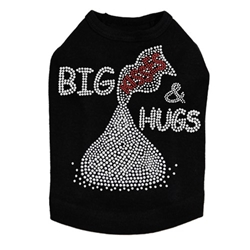 Big Hugs & Kisses Dog Tank- Many Colors  dog bowls,susan lanci, puppia,wooflink, luxury dog boutique,tonimari,pet clothes, dog clothes, puppy clothes, pet store, dog store, puppy boutique store, dog boutique, pet boutique, puppy boutique, Bloomingtails, dog, small dog clothes, large dog clothes, large dog costumes, small dog costumes, pet stuff, Halloween dog, puppy Halloween, pet Halloween, clothes, dog puppy Halloween, dog sale, pet sale, puppy sale, pet dog tank, pet tank, pet shirt, dog shirt, puppy shirt,puppy tank, I see spot, dog collars, dog leads, pet collar, pet lead,puppy collar, puppy lead, dog toys, pet toys, puppy toy, dog beds, pet beds, puppy bed,  beds,dog mat, pet mat, puppy mat, fab dog pet sweater, dog sweater, dog winter, pet winter,dog raincoat, pet raincoat,