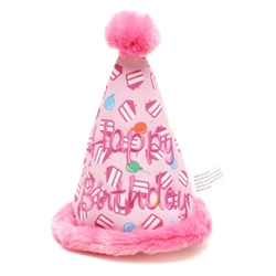 Birthday Girl Hat Toy  wooflink, susan lanci, dog clothes, small dog clothes, urban pup, pooch outfitters, dogo, hip doggie, doggie design, small dog dress, pet clotes, dog boutique. pet boutique, bloomingtails dog boutique, dog raincoat, dog rain coat, pet raincoat, dog shampoo, pet shampoo, dog bathrobe, pet bathrobe, dog carrier, small dog carrier, doggie couture, pet couture, dog football, dog toys, pet toys, dog clothes sale, pet clothes sale, shop local, pet store, dog store, dog chews, pet chews, worthy dog, dog bandana, pet bandana, dog halloween, pet halloween, dog holiday, pet holiday, dog teepee, custom dog clothes, pet pjs, dog pjs, pet pajamas, dog pajamas,dog sweater, pet sweater, dog hat, fabdog, fab dog, dog puffer coat, dog winter jacket, dog col