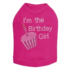 Birthday Girl  Shirt in 5 Colors  wooflink, susan lanci, dog clothes, small dog clothes, urban pup, pooch outfitters, dogo, hip doggie, doggie design, small dog dress, pet clotes, dog boutique. pet boutique, bloomingtails dog boutique, dog raincoat, dog rain coat, pet raincoat, dog shampoo, pet shampoo, dog bathrobe, pet bathrobe, dog carrier, small dog carrier, doggie couture, pet couture, dog football, dog toys, pet toys, dog clothes sale, pet clothes sale, shop local, pet store, dog store, dog chews, pet chews, worthy dog, dog bandana, pet bandana, dog halloween, pet halloween, dog holiday, pet holiday, dog teepee, custom dog clothes, pet pjs, dog pjs, pet pajamas, dog pajamas,dog sweater, pet sweater, dog hat, fabdog, fab dog, dog puffer coat, dog winter jacket, dog col