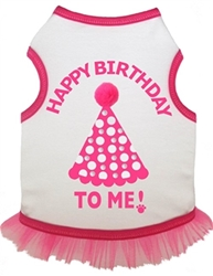 Birthday Hat Tank Dress w/Rhinestones
