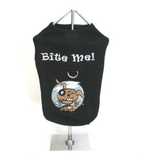 Bite Me Dog Harness Tank Top - Dogdes-bite-meS-KAM