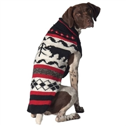 Black Bear Dog Sweater