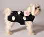 Black Polka Dot Dog Sweater   dog bowls,susan lanci, puppia,wooflink, luxury dog boutique,tonimari,pet clothes, dog clothes, puppy clothes, pet store, dog store, puppy boutique store, dog boutique, pet boutique, puppy boutique, Bloomingtails, dog, small dog clothes, large dog clothes, large dog costumes, small dog costumes, pet stuff, Halloween dog, puppy Halloween, pet Halloween, clothes, dog puppy Halloween, dog sale, pet sale, puppy sale, pet dog tank, pet tank, pet shirt, dog shirt, puppy shirt,puppy tank, I see spot, dog collars, dog leads, pet collar, pet lead,puppy collar, puppy lead, dog toys, pet toys, puppy toy, dog beds, pet beds, puppy bed,  beds,dog mat, pet mat, puppy mat, fab dog pet sweater, dog sweater, dog winter, pet winter,dog raincoat, pet raincoat