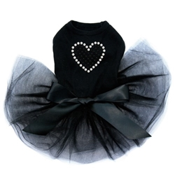 Black Rhinestone Heart Tutu Dress in Many Colors  wooflink, susan lanci, dog clothes, small dog clothes, urban pup, pooch outfitters, dogo, hip doggie, doggie design, small dog dress, pet clotes, dog boutique. pet boutique, bloomingtails dog boutique, dog raincoat, dog rain coat, pet raincoat, dog shampoo, pet shampoo, dog bathrobe, pet bathrobe, dog carrier, small dog carrier, doggie couture, pet couture, dog football, dog toys, pet toys, dog clothes sale, pet clothes sale, shop local, pet store, dog store, dog chews, pet chews, worthy dog, dog bandana, pet bandana, dog halloween, pet halloween, dog holiday, pet holiday, dog teepee, custom dog clothes, pet pjs, dog pjs, pet pajamas, dog pajamas,dog sweater, pet sweater, dog hat, fabdog, fab dog, dog puffer coat, dog winter jacket, dog col