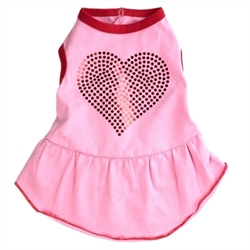 Bling Heart Dog Dress    pet clothes, dog clothes, puppy clothes, pet store, dog store, puppy boutique store, dog boutique, pet boutique, puppy boutique, Bloomingtails, dog, small dog clothes, large dog clothes, large dog costumes, small dog costumes, pet stuff, Halloween dog, puppy Halloween, pet Halloween, clothes, dog puppy Halloween, dog sale, pet sale, puppy sale, pet dog tank, pet tank, pet shirt, dog shirt, puppy shirt,puppy tank, I see spot, dog collars, dog leads, pet collar, pet lead,puppy collar, puppy lead, dog toys, pet toys, puppy toy, dog beds, pet beds, puppy bed,  beds,dog mat, pet mat, puppy mat, fab dog pet sweater, dog sweater, dog winter, pet winter,dog raincoat, pet raincoat, dog harness, puppy harness, pet harness, dog collar, dog lead, pet l