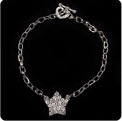 Bling Star Dog Necklace
