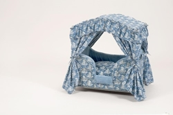 Blue Angels Dog Canopy Bed
