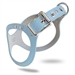 Blue BB2 Dog Harness - budbelt-blue-harness