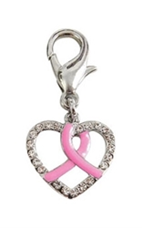Brave Heart Dog Collar Charm
