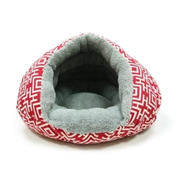 Burger Bed in Red