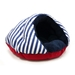 Burger Dog Bed Nautical - dgo-burger-nautical