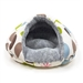 Burger Leaf Dog Bed - dgo-burger-bed-green