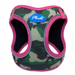Camo/Pink Plush Step In Dog Harness Vest  pet clothes, dog clothes, puppy clothes, pet store, dog store, puppy boutique store, dog boutique, pet boutique, puppy boutique, Bloomingtails, dog, small dog clothes, large dog clothes, large dog costumes, small dog costumes, pet stuff, Halloween dog, puppy Halloween, pet Halloween, clothes, dog puppy Halloween, dog sale, pet sale, puppy sale, pet dog tank, pet tank, pet shirt, dog shirt, puppy shirt,puppy tank, I see spot, dog collars, dog leads, pet collar, pet lead,puppy collar, puppy lead, dog toys, pet toys, puppy toy, west paw designs, dog beds, pet beds, puppy bed,  beds,dog mat, pet mat, puppy mat, fab dog pet sweater, dog sweater, dog winter, pet winter,dog raincoat, pet raincoat, dog harness, puppy harness, pet harness, dog colla