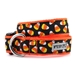 Candy Corn Dog Collar & Lead  - wd-candycorn-collar