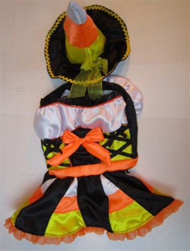 Candy Corn Witch Costume