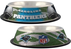Carolina Panthers Dog Bowl