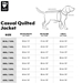 Casual Quilted Dog Jacket - hurta-quilted-jacket