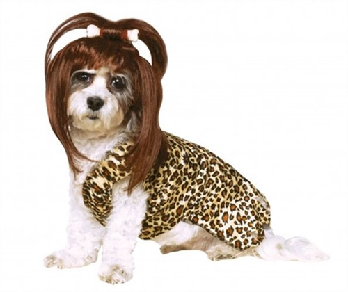 Cave Girl Pet Costume