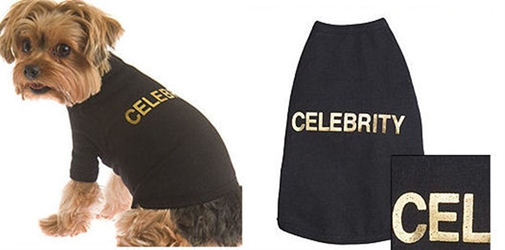Celebrity Dog Tee Shirt puppy bed,  beds,dog mat, pet mat, puppy mat, fab dog pet sweater, dog swepet clothes, dog clothes, puppy clothes, pet store, dog store, puppy boutique store, dog boutique, pet boutique, puppy boutique, Bloomingtails, dog, small dog clothes, large dog clothes, large dog costumes, small dog costumes, pet stuff, Halloween dog, puppy Halloween, pet Halloween, clothes, dog puppy Halloween, dog sale, pet sale, puppy sale, pet dog tank, pet tank, pet shirt, dog shirt, puppy shirt,puppy tank, I see spot, dog collars, dog leads, pet collar, pet lead,puppy collar, puppy lead, dog toys, pet toys, puppy toy, dog beds, pet beds, puppy bed,  beds,dog mat, pet mat, puppy mat, fab dog pet sweater, dog sweater, dog winter, pet winter,dog raincoat, pet rain