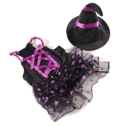 Charming Witch Costume & Hat - dgo-chwitch
